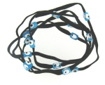 Evil Eye 11465 bracelet Black with blue eyes