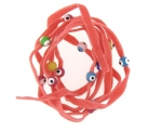 Evil Eye 11465 bracelet PINK with mixed eyes