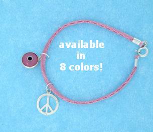 sterling silver Peace Sign Bracelets