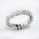 sterling silver eternity band 441a70133