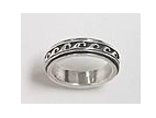 sterling silver Worry rings 45AT386