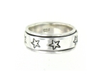 sterling silver spinner ring style 45AT516