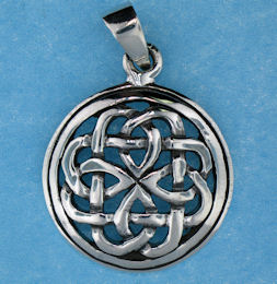 model  767-43 celtic pendant enlarged view