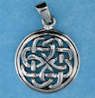 Sterling silver Celtic pendant style 767-43