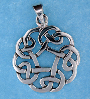 model  767-49 celtic pendant enlarged view