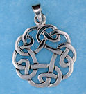 Sterling silver Celtic pendant style 767-49