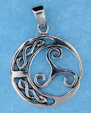 model  767-51 celtic pendant enlarged view