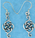 sterling silver wire earring style A2524