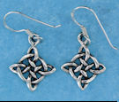 sterling silver wire earring style A2544