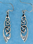 sterling silver wire earring style A2553