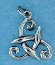 Sterling silver Celtic pendant style A4134