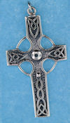 Sterling silver Celtic pendant style A4176