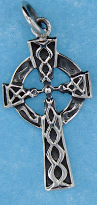 model a4178 celtic pendant enlarged view