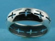 sterling silver cross ring A601-28