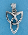 Sterling silver Celtic pendant style A767-63
