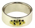 sterling silver claddagh rings A986-733