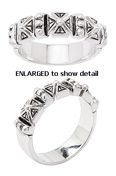 larger AAR001 celtic cross ring