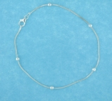 sterling silver anklet AASS0050