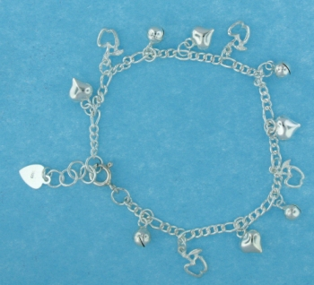 sterling silver anklet AASS1319