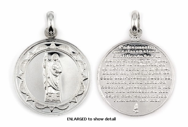 ENLARGED view of ABC1028 pendant