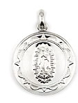 sterling silver religious medals #ABC1030