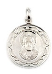 sterling silver religious medals #ABC1031