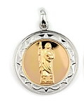 sterling silver religious medals #ABC1032