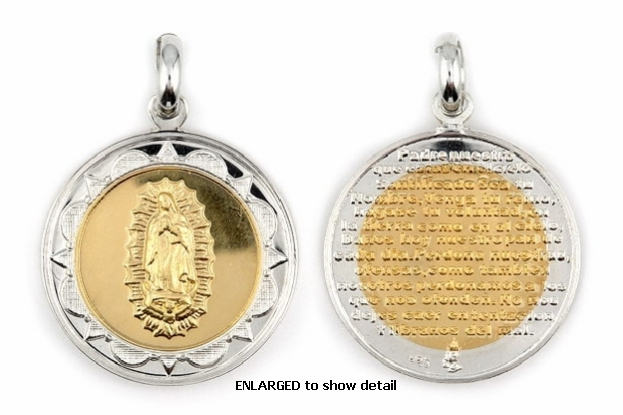 ENLARGED view of ABC1034 pendant