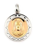sterling silver religious medals #ABC1035
