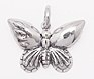 sterling silver butterfly pendant abc216
