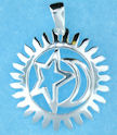 sterling silver pendant abc7062678