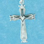 sterling silver cross pendant ABC712