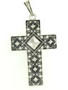 sterling silver cross pendant ABCP1060
