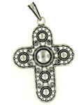 sterling silver cross pendant ABCP1061