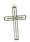 sterling silver cross pendant ABCP1073