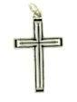 sterling silver cross pendant ABCP1074