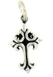 sterling silver cross pendant ABCP600