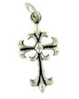 sterling silver cross pendant ABCP602