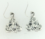 sterling silver celtic earrings AECT-008