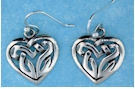 sterling silver celtic earrings AECT-010