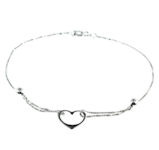 sterling silver anklet AED3003