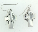 sterling silver wire earring style AEP-077
