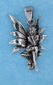 sterling silver fairy pendant AFS0007