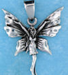 sterling silver fairy pendant AFS0009