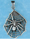 Model AGP706595 Gothic pendant with spider web