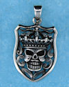 Model AGP706597 Gothic pendant with skull shield