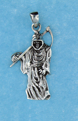 model AGP768100 grim reaper pendant enlarged view
