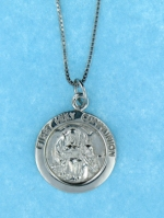 sterling silver confirmation necklace AP0108