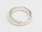 sterling silver band ring style AP13