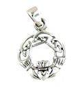Model AP767-75 Claddagh Pendant